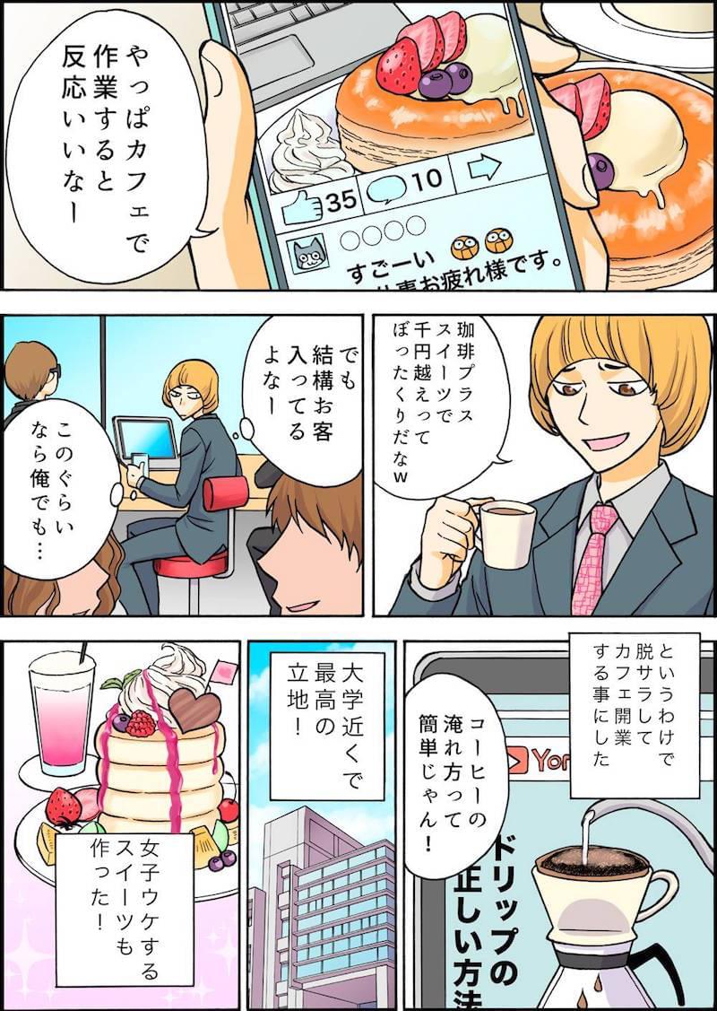 個人 経営 漫画 喫茶